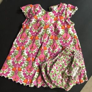 0a699e5ce Vera Bradley baby dress and bloomers 9-12 months